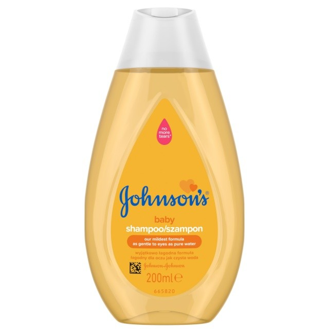 JOHNSONS Baby šampon 200 ml