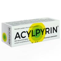 Zobrazit detail - Acylpyrin 500mg por. tbl. eff. 15x500mg