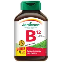 Zobrazit detail - JAMIESON Vitamín B12 1200mcg s post. uvolňov. tbl. 80