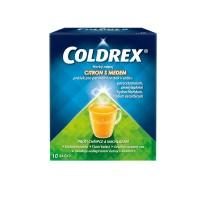 Zobrazit detail - Coldrex Horký nápoj citron med por. plv. sol. scc. 10
