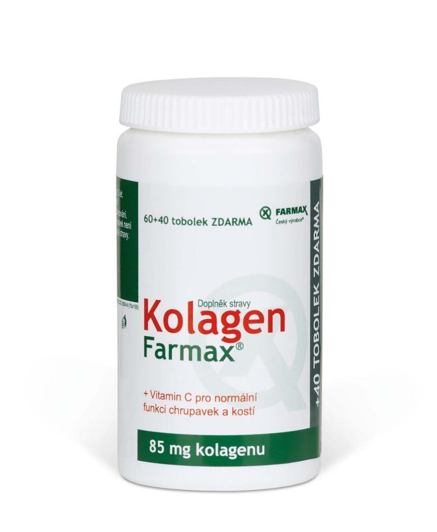 Kolagen Farmax tob.60+40 ZDARMA