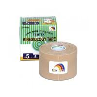 Zobrazit detail - Tejp.  TEMTEX kinesio tape béžová 5cmx5m + Ke 2 ks tejpů TEMTEX chladivý-hřejivý polštářek zdarma