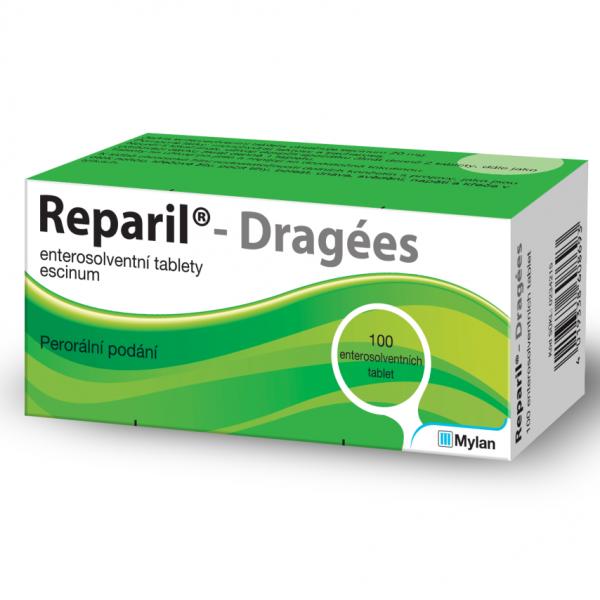 Reparil- Dragées 20 mg tbl.ent.100