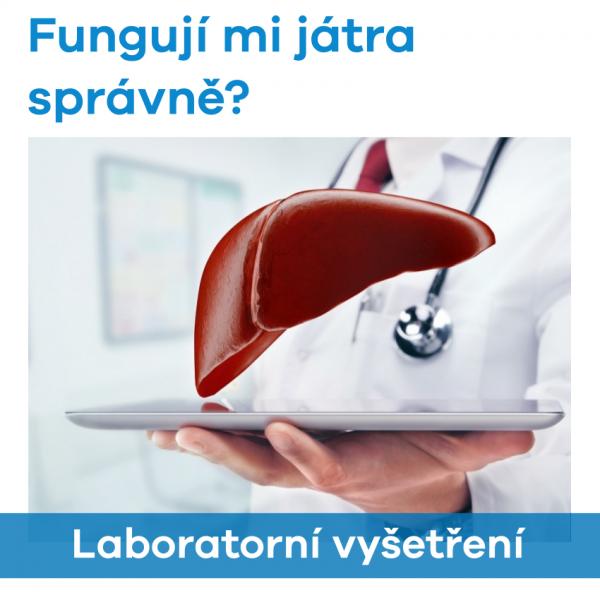 EUC Laboratoře - Fungují mi játra správně? (vyšetření)