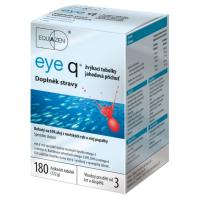 Zobrazit detail - eye q žvýkací tob. 180 jahodová příchuť