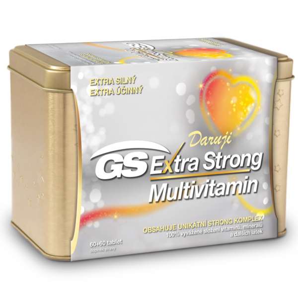 GS Extra Strong Multivitamin tbl.60+60 dárek 2019