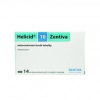 Zobrazit detail - Helicid 10 Zentiva por. cps. etd. 14x10mg
