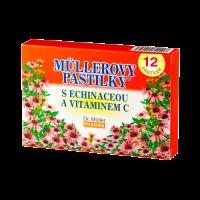 Zobrazit detail - Müllerovy pastilky s echinaceou 12ks