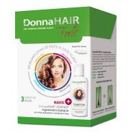 Zobrazit detail - DonnaHAIR Forte 3měs. kúra tob90+šampon 100ml