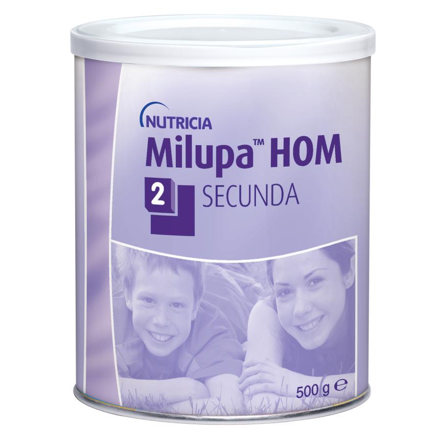 Milupa HOM 2 Secunda por.plv. 1x500g nový