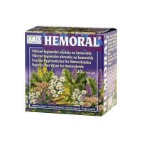 Zobrazit detail - Hemoral vlhčené hyg.  ubrousky na hemoroidy 20ks