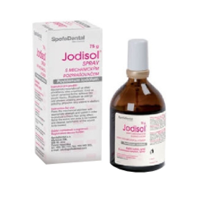 Jodisol spray s mech.rozpraš. drm.spr.sol.1x75g