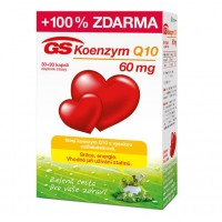 Zobrazit detail - GS Koenzym Q10 60mg cps. 30+30