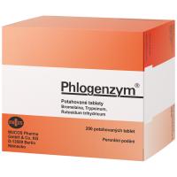 Zobrazit detail - Phlogenzym Magensaftresistente tbl. obd. 200