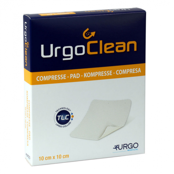 UrgoClean lipidokoloid.krytí 10x10cm 10ks