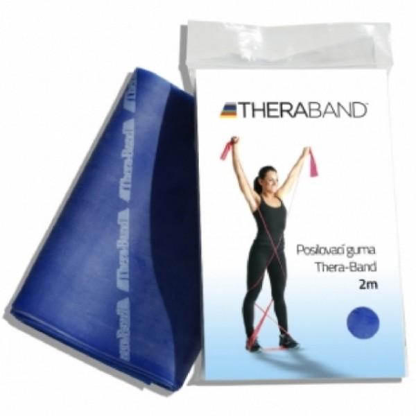 Thera-Band Posilovací guma 2m modrá - extra silná