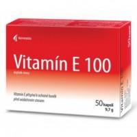 Zobrazit detail - Vitamín E 100mg cps. 50 blistr
