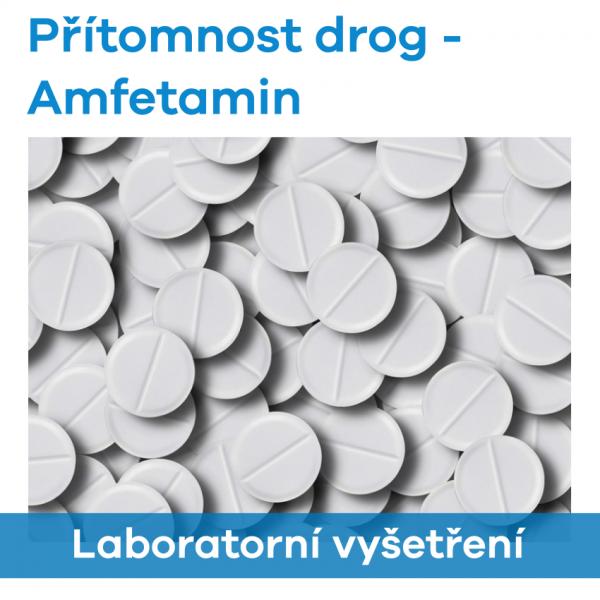 EUC Laboratoře - Přítomnost drog (Amfetamin)
