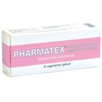 Zobrazit detail - Pharmatex vaginální globule glo. vag. 10x18. 9mg