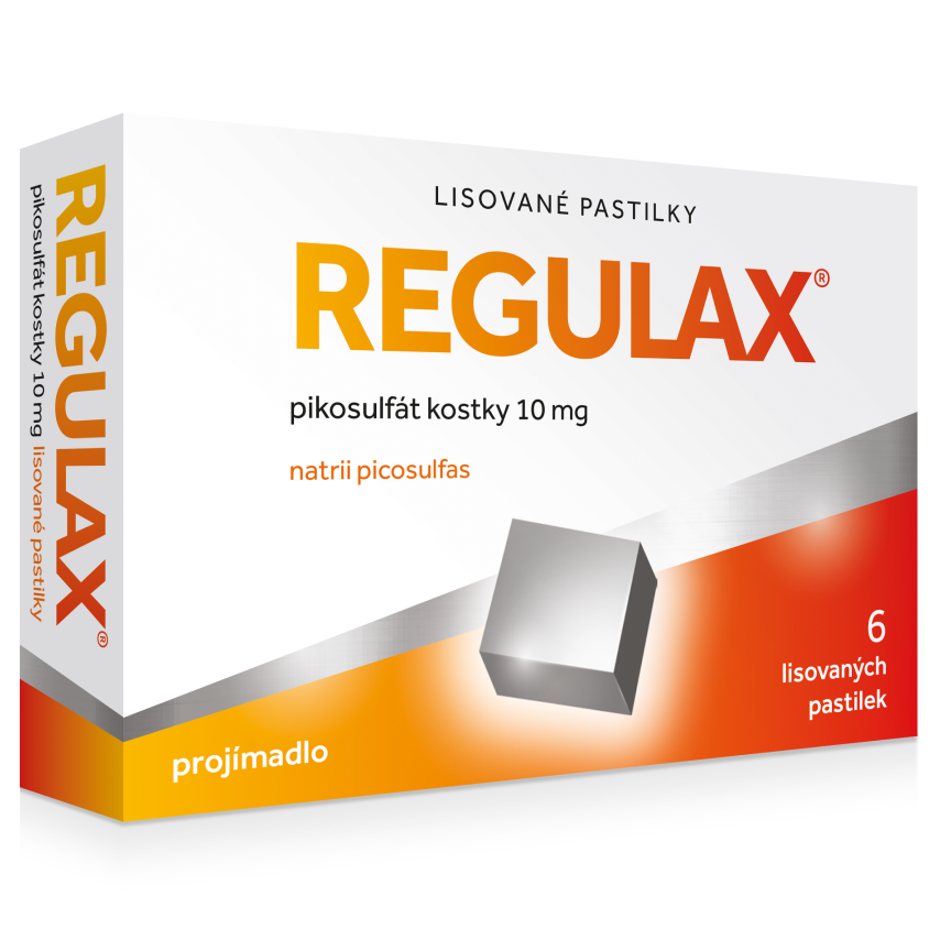 Regulax Pikosulf�t kostky 10mg orm.pas.cmp.6x10mg