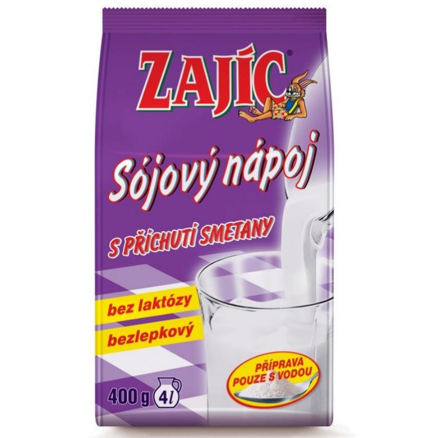 Sójový nápoj - Zajíc s příchutí smetany 400g sáček