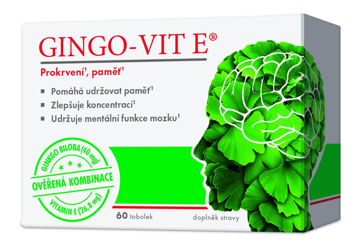Gingo-vit E tob.60