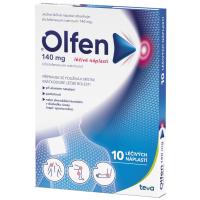 Zobrazit detail - Olfen 140mg léčivé náplasti drm. emp. med. 10x140mg