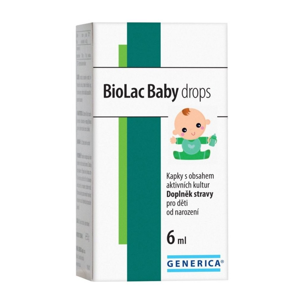 BioLac Baby drops Generica 6 ml