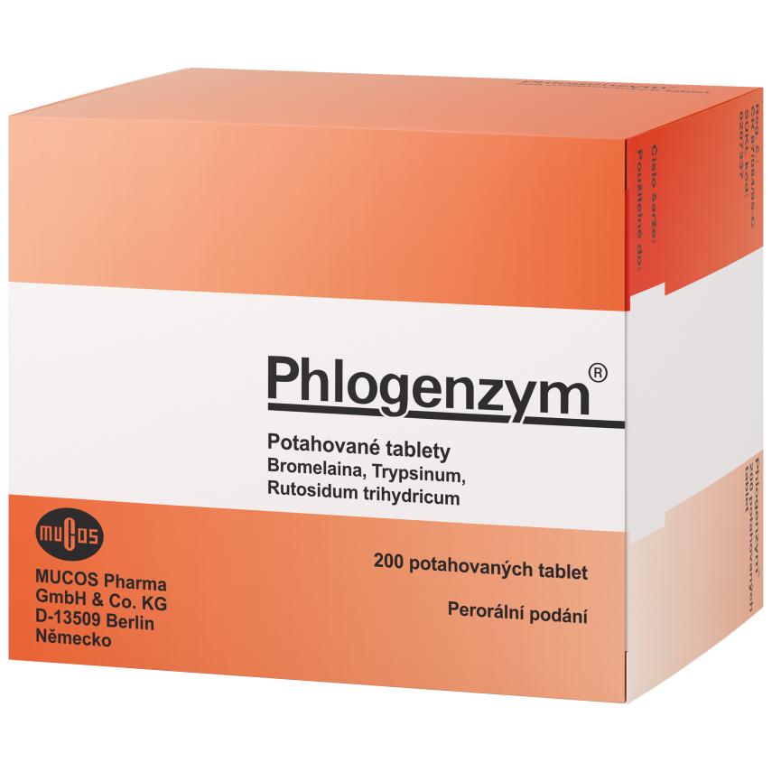 Phlogenzym Magensaftresistente tbl.obd.200