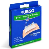 Zobrazit detail - URGO BURNS Na popáleniny lipidok. nápl. 10x7cm 4ks