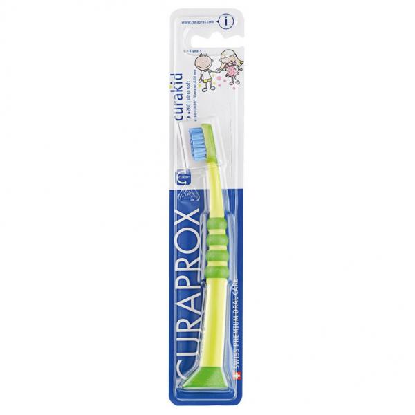CURAPROX curakid dětský zubní kartáček CK4260 zeleny