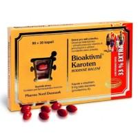 Zobrazit detail - Bioaktivní Karoten Rodinné balení cps. 90+30