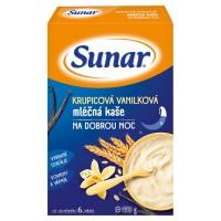 Zobrazit detail - Sunárek -Sunarka krupic. kaš. med dobr. noc mléč. 225g