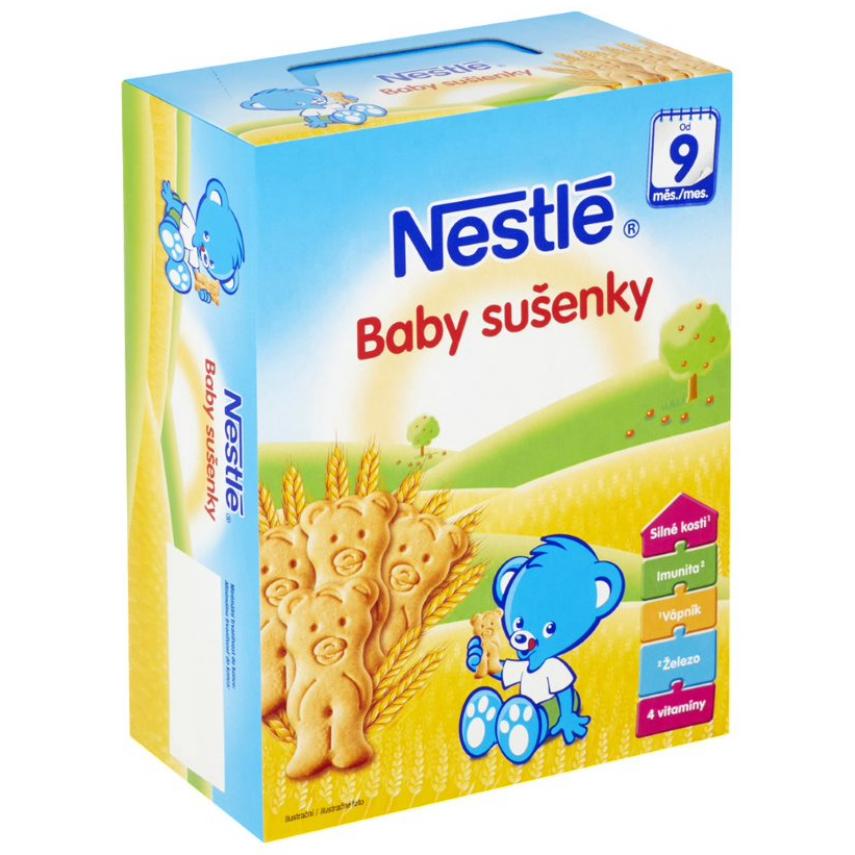 NESTLÉ Baby sušenky 2x90g
