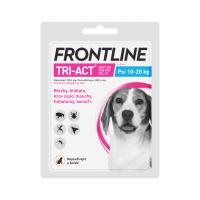 Zobrazit detail - Frontline Tri-Act psi 10-20kg spot-on 1x1pipeta