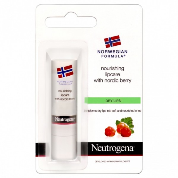 NEUTROGENA NR Výž. balzám rty Nordic Berry 4.9 g