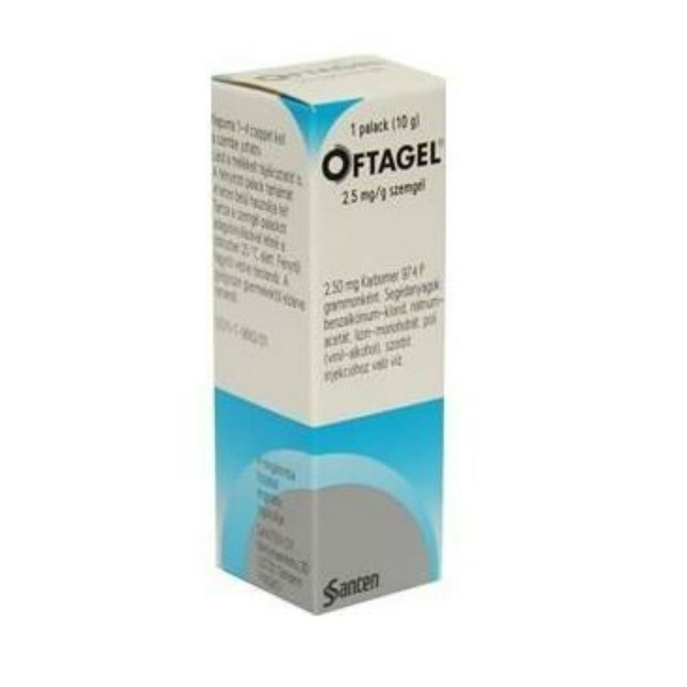 Oftagel gel opht.1x10g-25mg