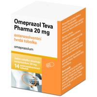 Zobrazit detail - Omeprazol Teva Pharma 20mg por. cps. etd. 14x20mg