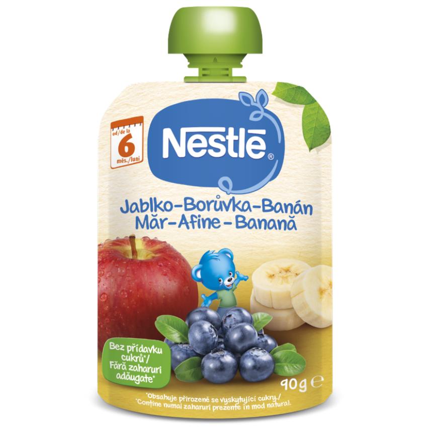 NESTLÉ kapsička ovocná Borůvka-Jablko-Banán 90g