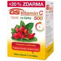 Zobrazit detail - GS Vitamin C500 se šípky tbl. 100+20 2016