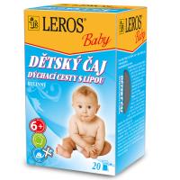 Zobrazit detail - LEROS BABY Dětský čaj Nachlazení n. s. 20x2g
