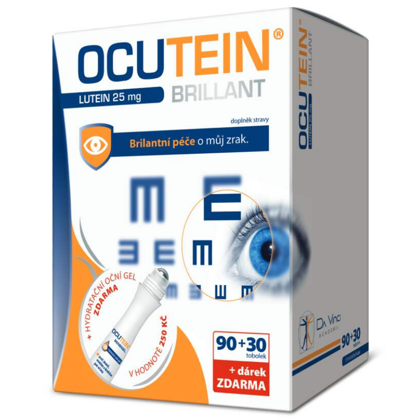 Ocutein Brillant Lutein 25mgDaVinci90+30tob.+d�rek