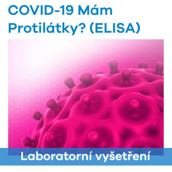 COVID-19 Mám protilátky? (ELISA)
