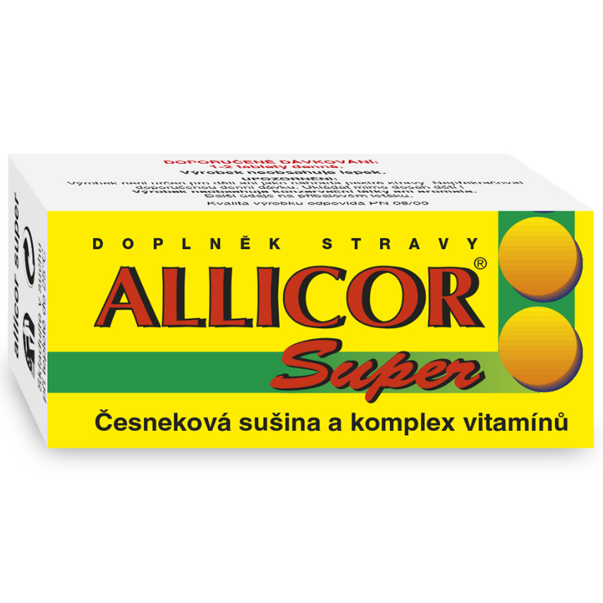 Allicor Super �esnek+vitamin.tbl.60