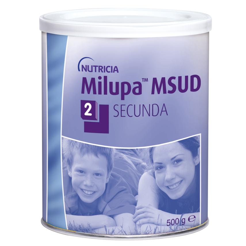 Milupa MSUD 2 Secunda por.plv. 1x500g nový