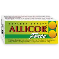 Zobrazit detail - Allicor Forte česnek tbl. 60+C+E+P+BETA