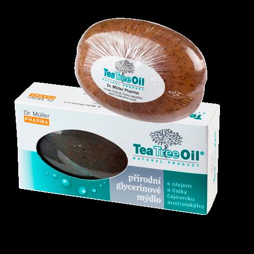 Tea Tree Oil mýdlo s lístky čajovníku austr.90g