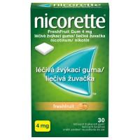 Zobrazit detail - Nicorette Freshfruit Gum 2mg L��. �v�k. guma 30x2mg