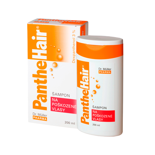 Panthehair šampon na poškoz.vlasy 200ml Dr.Müller