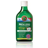 Zobrazit detail - Mollers Omega 3 50+ 250ml